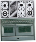 ILVE MTS-120VD-VG Stainless-Steel Kitchen Stove, type of oven: gas, type of hob: combined
