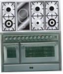 ILVE MT-120VD-VG Stainless-Steel Kitchen Stove, type of oven: gas, type of hob: combined