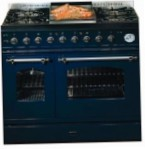ILVE PD-906N-VG Matt Kitchen Stove, type of oven: gas, type of hob: gas
