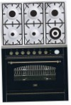 ILVE P-906N-VG Matt Kitchen Stove, type of oven: gas, type of hob: gas