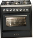 ILVE MT-76D-VG Matt Kitchen Stove, type of oven: gas, type of hob: gas