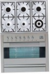 ILVE PF-906-VG Stainless-Steel Kitchen Stove, type of oven: gas, type of hob: gas