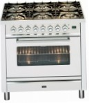 ILVE PW-906-MP Stainless-Steel Kitchen Stove, type of oven: electric, type of hob: gas