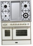 ILVE MD-100FD-E3 White Kitchen Stove, type of oven: electric, type of hob: gas