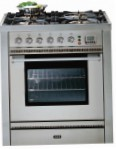 ILVE P-70L-VG Stainless-Steel Kitchen Stove, type of oven: gas, type of hob: gas