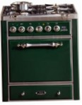 ILVE MC-70D-VG Green Kitchen Stove, type of oven: gas, type of hob: gas