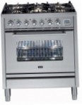 ILVE PW-76-MP Stainless-Steel Kitchen Stove, type of oven: electric, type of hob: gas
