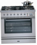 ILVE P-80L-VG Stainless-Steel Kitchen Stove, type of oven: gas, type of hob: gas